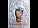 Icon Of Virgin Salvation